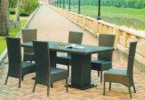 Jogo de jantar ao ar livre do Rattan do PE (BL-3311)