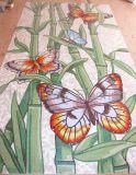 Mattonelle della parete della priorità bassa, mosaico di arte del reticolo di mosaico di cristallo (HMP673)