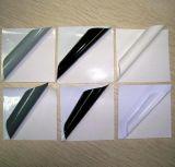 투명한 용해력이 있는 접착성 비닐 스티커