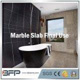 Azulejo de piedra blanco Polished natural del granito/de mármol de suelo para el suelo que pavimenta el material de construcción