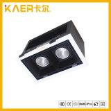 Lumières de gril du CREE enfoncées par modèle noir 7wx2 DEL
