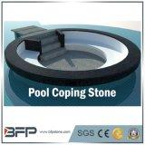 Telha exterior de pedra natural / granito exterior para piscina de piscina