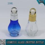 20ml освобождают стеклянную косметическую бутылку капельницы эфирного масла