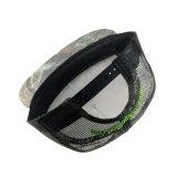 Kundenspezifische flache Fernlastfahrer-Schutzkappen-Stickerei Camo Schutzkappen