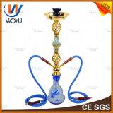Cachimbo de água de vidro luxuoso de Shisha do E-Cigarro da tubulação de água