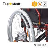 신체 장애자를 위한 알루미늄 편리한 폴딩 수동 휠체어