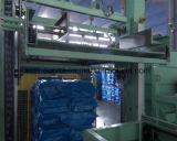 Solide de paraffine formant la ligne de machine