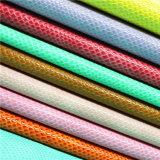 Accesorios para calzado de alta calidad ambiental de la parte superior de cuero con Material de PU