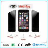 反スパイのiPhone 6sのためののぞくプライバシーの緩和されたガラススクリーンの保護装置と