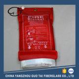 Coperta del fuoco della famiglia (tessuto bianco della vetroresina)