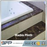 台座および壁の装飾のための浴室の装飾磨かれたM220暗いEmperdorの大理石