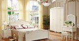 Muebles de dormitorio de lujo de alto brillo