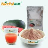 O pó secado fresco do suco de fruta da melancia faz da melancia fresca