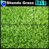 30 mm Verde Liso + Verde Curl Fio Sintético Grass para Paisagem