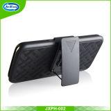 Couverture hybride combinée de téléphone de Kickstand d'armure du nord du marché 2017 pour Samsung S8