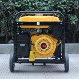 バイソン((h) 5kw 5kVA中国) BS6500hの銅線13HPのAir-Cooled世帯販売のための携帯用ガソリン発電機