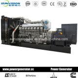 conjunto de generador industrial 1100kw con el motor de Mitsubishi