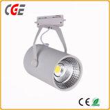 Voie d'éclairage à LED Lampes intérieure AC85V-265V COB LED spotlight la voie de lumière par la voie de l'éclairage28/lampes PAR30 voie Lampes à LED
