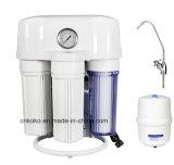 Система водообеспечения фильтра воды RO 5 этапов с индикацией регулятора