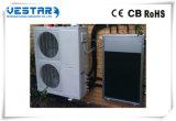 Condicionador de ar rachado do sistema da parede do vapor da bomba de calor à terra