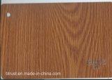 Пленка/фольга PVC деревянного зерна декоративная для давления Bgl084-089 шкафа/мембраны вакуума двери