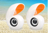 Novo design ultra som de beleza Mini Alto-falante sea snail forma Mini Alto-falante do computador portátil