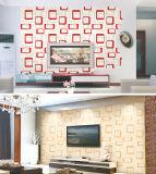 El interior decorativo 3D Wallpapers Guangzhou con el PVC impermeable