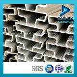 Aluminiumstrangpresßling-Profil für Einlage in MDF/in Slatwall