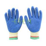 2016 Mãos 10g Srsafety Trabalho de Protecção de Cordas Knittedlatex Luvas CE EN 388