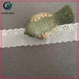 Commercio all'ingrosso floreale 100% del merletto del panno di cotone del ricamo