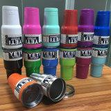 Fluorescente Verde Isolado a vácuo Isolado em aço inoxidável Yeti Rambler Tumbler Cooler Yeti Cup