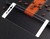 anti protezione chiara blu dello schermo di vetro Tempered del telefono mobile del coperchio completo 3D per SONY XA