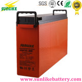 Telecom Terminal Frontal de plomo ácido de batería 12V200Ah para UPS