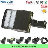 Soporte de deslizamiento de la caja de zapatos de 100 vatios de luz LED de área de estacionamiento