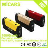 Dispositivo d'avviamento di salto della Banca di potere della batteria del Li-Polimero dei ricambi auto 16800mAh mini