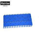 Cinghia modulare piana perforata blu del commestibile con l'iso