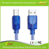 Transparentes USB-Drucker-Hochgeschwindigkeitskabel Am/Bm