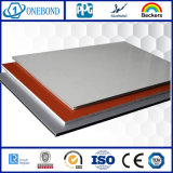 Panneau composé en aluminium ignifuge d'Onebond PVDF