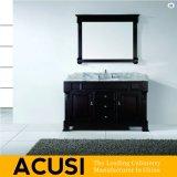 新しい優れた米国式のクルミの純木の浴室の虚栄心(ACS1-W23)