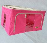 120L Foldable収納箱部屋のオーガナイザーファブリック及びプラスチック布のオーガナイザー