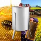 Большие 4 экстрактор меда пчелы нержавеющей стали 4 кадров ручной