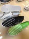 キャンバスの甲革の靴の二重側面の方法伸縮性があるスリップ