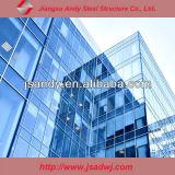 Acero inoxidable estructural de aluminio del diseño para la pared de cortina de cristal