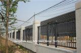 Haohan는 고품질 고전적인 주거 산업 직류 전기를 통한 강철 담 72를 주문을 받아서 만들었다