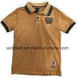 Camicia di polo normale del cotone per il ragazzo