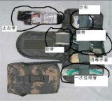 カムフラージュの援助のパッケージ、薬袋、旅行袋