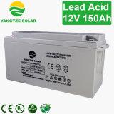 インバーターのための12V 150ahの深いサイクルの乾燥した充電電池