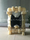 40mm doppelte MembranePolyproylene (Plastik) Pumpe für chemische Industrie
