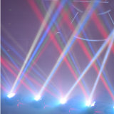 De Disco Light van DMX512 8PCS 10W RGBW 4in1 LED Spider Beam Moving Head Light Stage