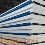 El panel de emparedado del EPS para prefabrica el edificio de acero del almacén
